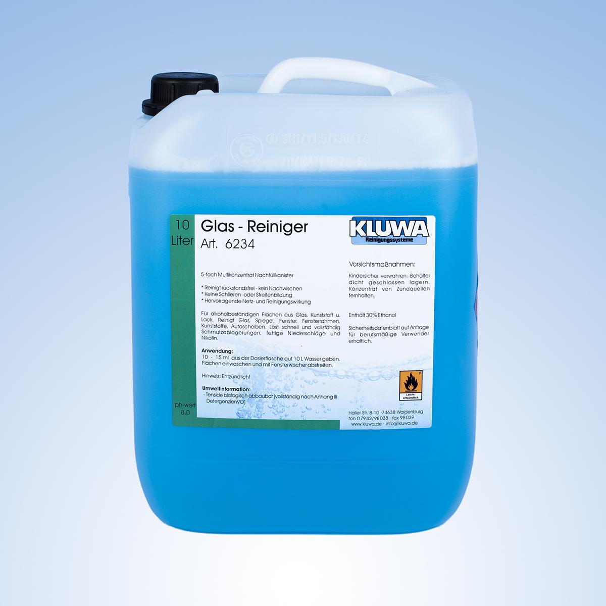 Glas- Reiniger Hochkonzentrat – KLUWA Reinigungssysteme KG